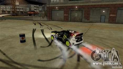 Subaru Impreza WRX STI Rallycross Monster Energy für GTA 4 Innen