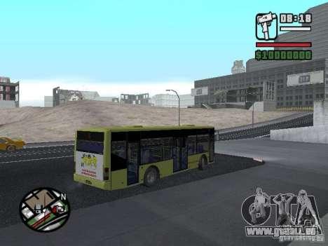 LAZ dargestellt (SitiLAZ 10) für GTA San Andreas linke Ansicht