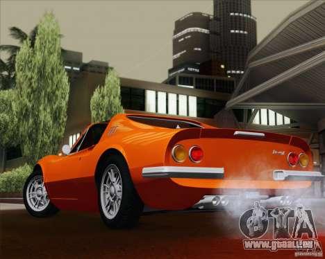 Ferrari 246 Dino GTS für GTA San Andreas Seitenansicht