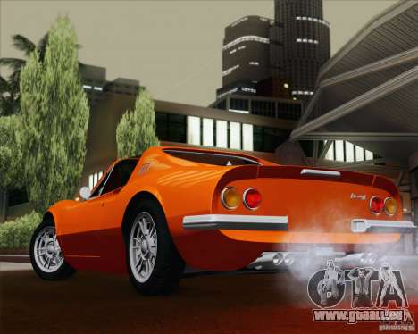 Ferrari 246 Dino GTS pour GTA San Andreas vue de côté