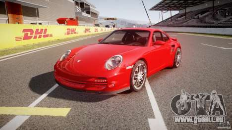 Porsche 911 Turbo V3 (final) pour GTA 4