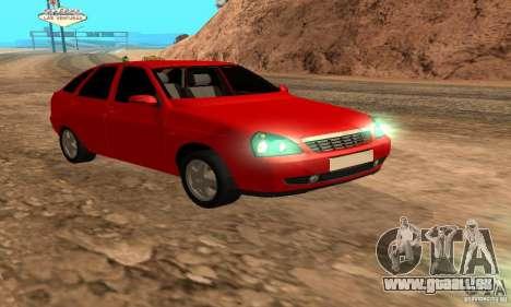 LADA Priora van für GTA San Andreas
