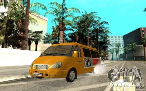 Gazelle 32213 (Restajl) für GTA San Andreas