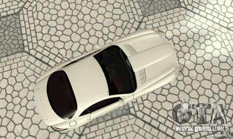 Mercedes-Benz McLaren V2.3 für GTA San Andreas Rückansicht