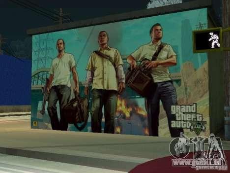 Poster de GTA V pour GTA San Andreas troisième écran