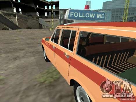 Volga GAZ-24 AEROFLOT 02 pour GTA San Andreas laissé vue