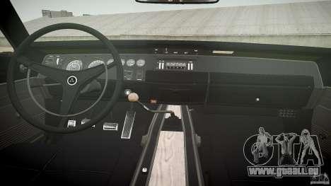 Dodge Charger Daytona 1969 [EPM] pour GTA 4 vue de dessus