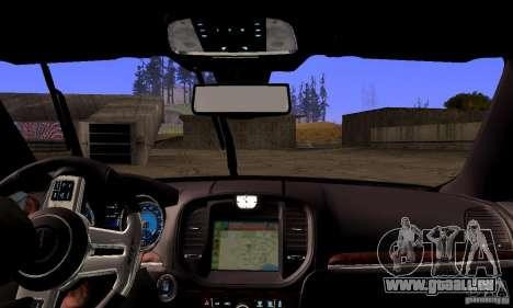 Chrysler 300c für GTA San Andreas obere Ansicht