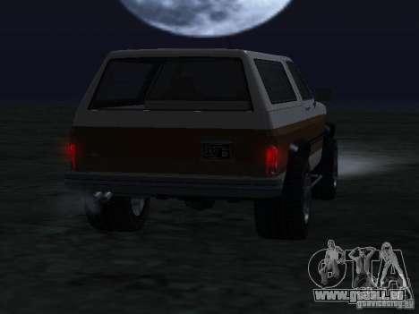 Éleveur de GTA 4 pour GTA San Andreas sur la vue arrière gauche