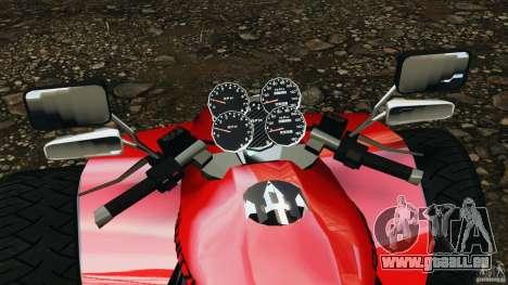 ATV PCJ Sport pour GTA 4 Vue arrière