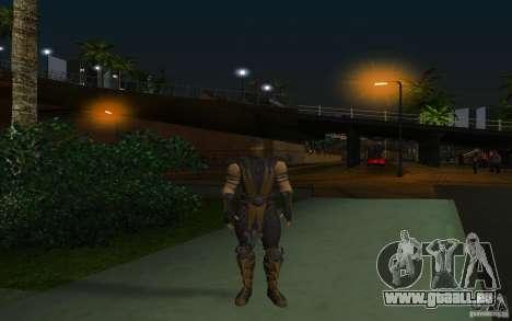 Scorpion v2.2 MK 9 für GTA San Andreas zweiten Screenshot