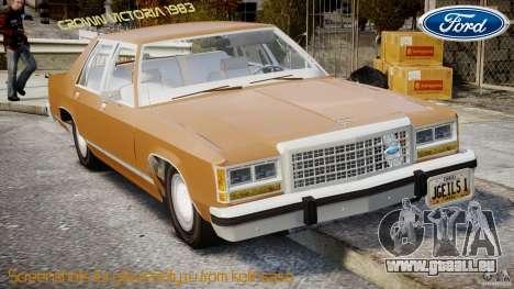 Ford Crown Victoria 1983 für GTA 4