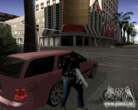 Capot du système pour GTA San Andreas troisième écran