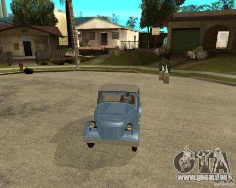 SMZ s-3 a pour GTA San Andreas vue arrière