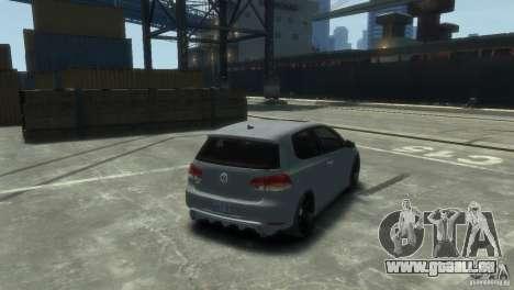 Volkswagen Golf GTI pour GTA 4 est une gauche