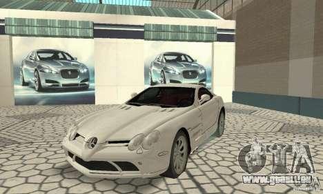 Mercedes-Benz McLaren V2.3 pour GTA San Andreas laissé vue