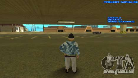 Vagos Girl pour GTA San Andreas troisième écran