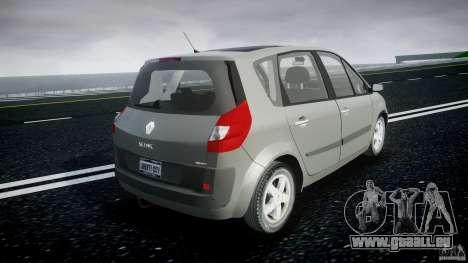 Renault Scenic II Phase 2 pour GTA 4 est une vue de l'intérieur