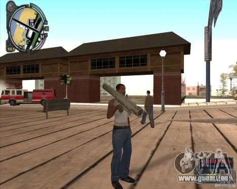 S.T.A.L.K.E.R. Call of Pripyat HUD for SA v1.0 pour GTA San Andreas troisième écran
