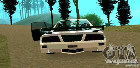 New Turismo für GTA San Andreas Rückansicht