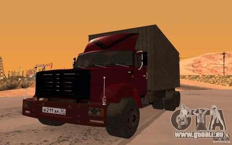 ZIL 6309 für GTA San Andreas rechten Ansicht