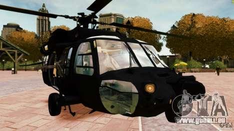 MH-60K Black Hawk pour GTA 4 est un droit