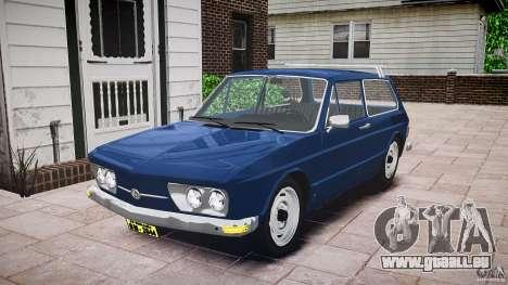 Volkswagen Brasilia pour GTA 4 est un droit