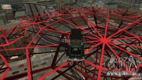 Smith Thunderbolt Mafia II pour GTA 4 est une vue de dessous