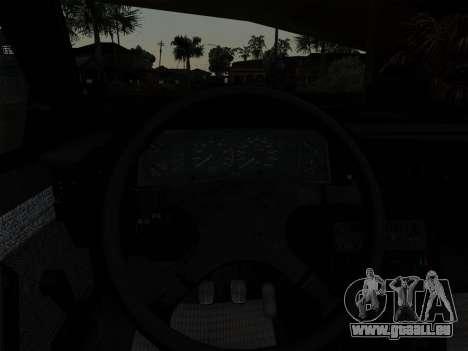 FSO Polonez Caro Orciari 1.4 GLI 16v für GTA San Andreas obere Ansicht
