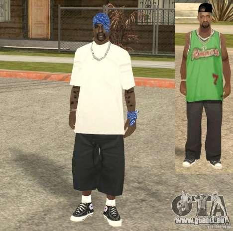 Compton Crips für GTA San Andreas fünften Screenshot
