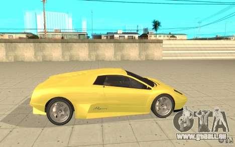 Infernus aus GTA 4 für GTA San Andreas linke Ansicht