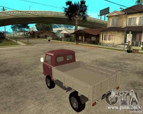 UAZ 452d « Têtard » pour GTA San Andreas laissé vue