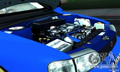 Subaru Impreza 1995 World Rally ChampionShip für GTA San Andreas obere Ansicht