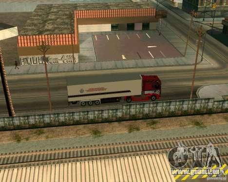 Scania TopLine pour GTA San Andreas vue de droite