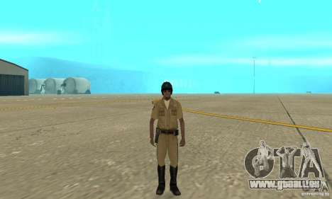 New uniform cops on bike für GTA San Andreas