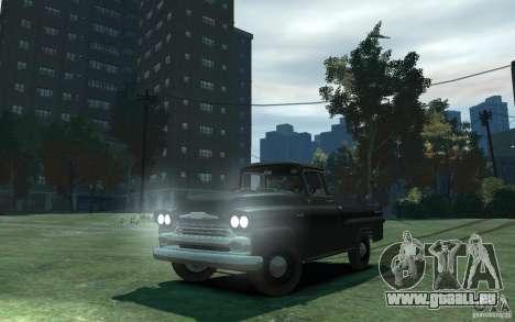 Chevrolet Apache Fleetside 1958 für GTA 4
