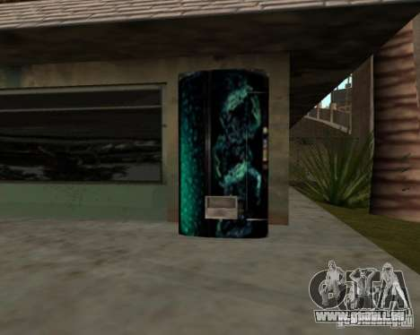 Nouvelles machines pour GTA San Andreas