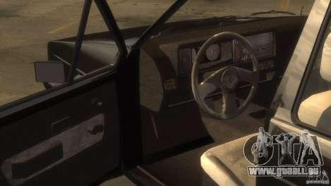 Volkswagen Golf pour GTA 4 Vue arrière de la gauche