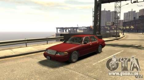 Ford Crown Victoria pour GTA 4