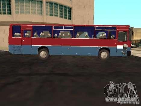 Ikarus 255 pour GTA San Andreas laissé vue