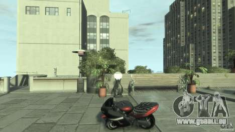 Mini NRG900 für GTA 4 linke Ansicht