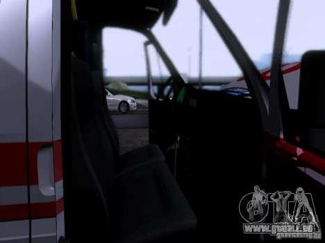 Ambulance Gazelle 2705 pour GTA San Andreas vue de côté