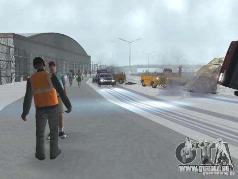 Augmenter le trafic pour GTA San Andreas troisième écran