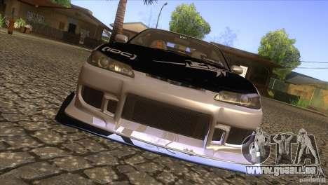 Nissan Silvia S15 Logan pour GTA San Andreas vue intérieure