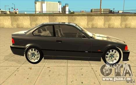 BMW E36 M3 - Stock pour GTA San Andreas vue intérieure