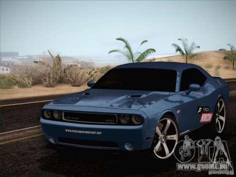 Dodge Challenger SRT8 2010 für GTA San Andreas