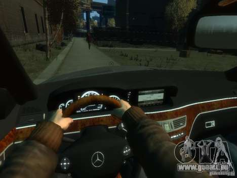 Mercedes-Benz W221 S500 für GTA 4 Seitenansicht
