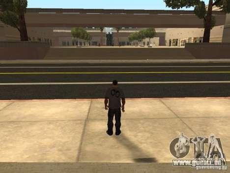 Construction de nouvelles routes à Los Santos pour GTA San Andreas troisième écran