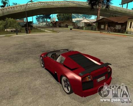 Lamborghini Murcielago SHARK TUNING für GTA San Andreas linke Ansicht