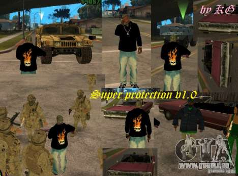 Super protection v1.0 pour GTA San Andreas